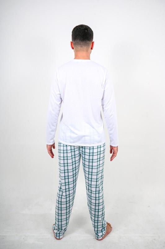 Pijama Branco com Listras