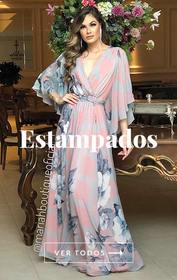 Vestidos Estampados Mariah