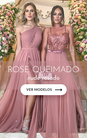 vestidos de madrinha rose mariah