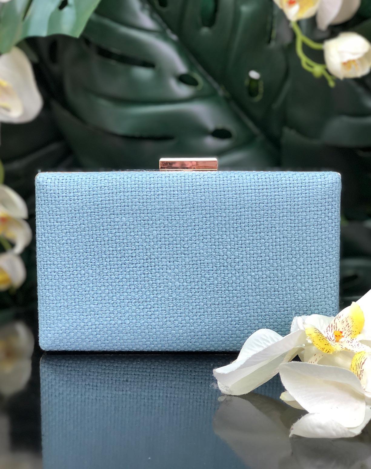 Clutch Azul Serenity