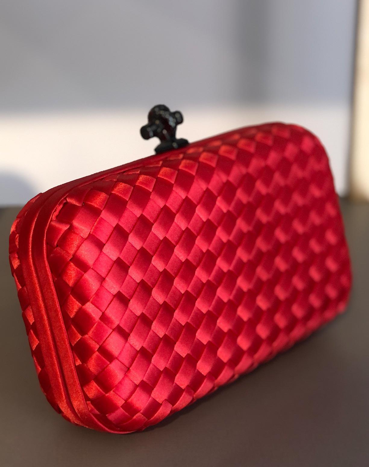 Clutch Bottega Vermelha