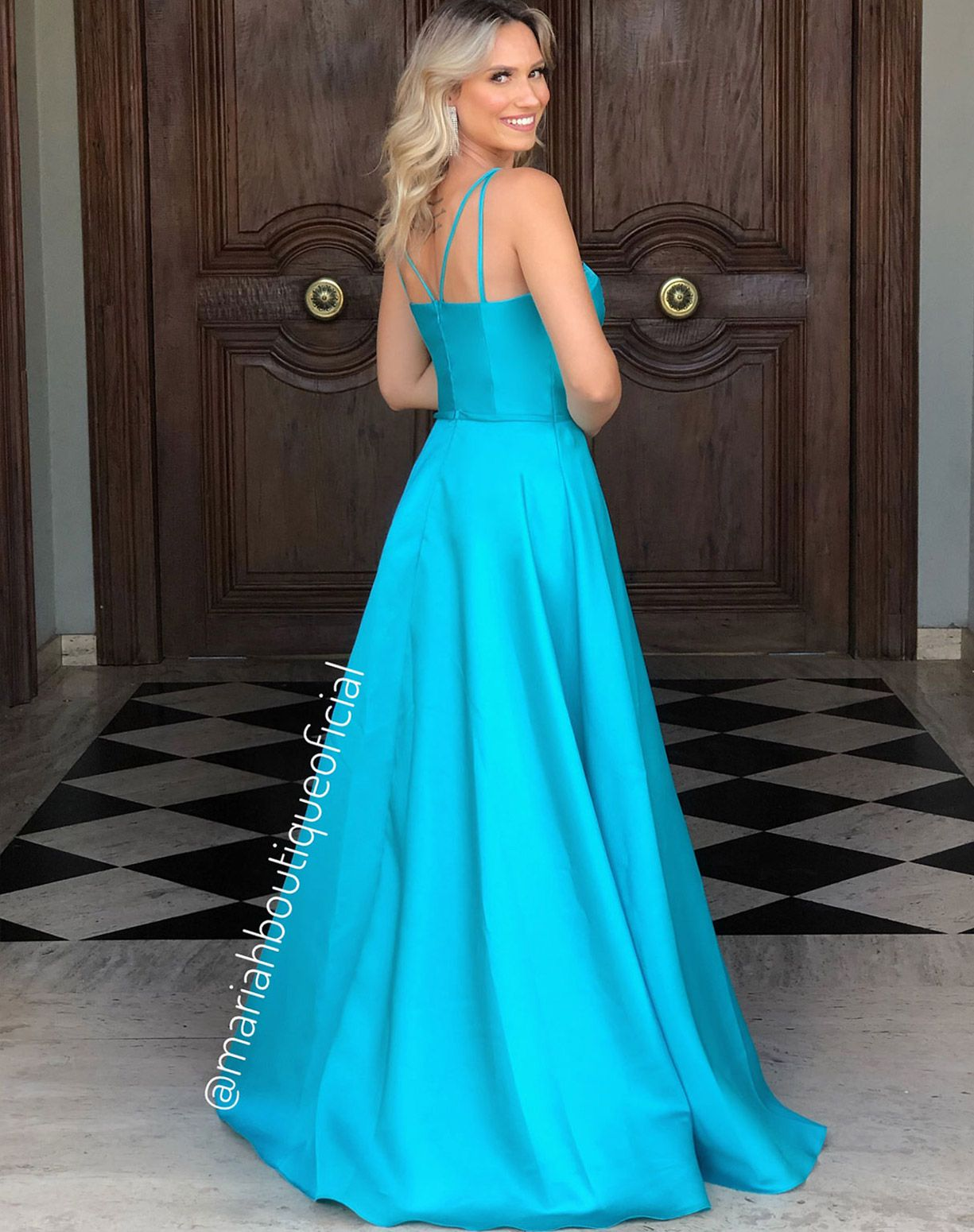 Vestido Tiffany Corpete em Zibeline