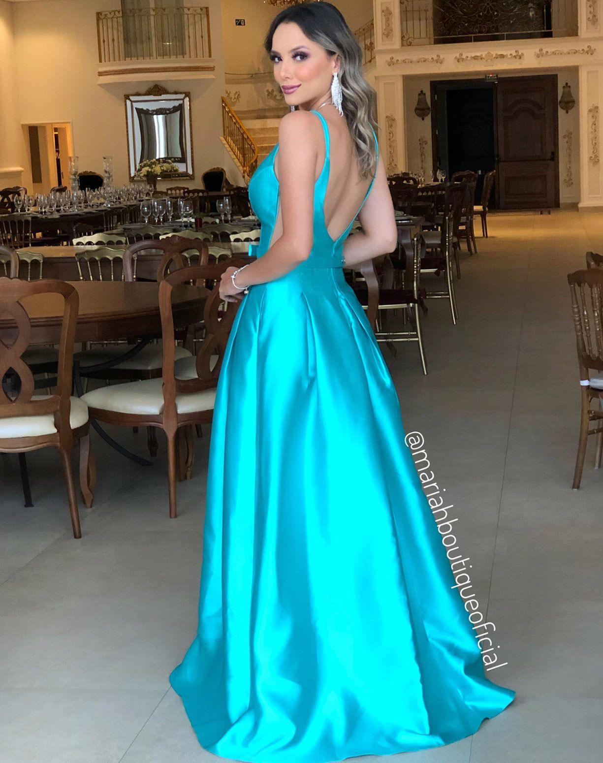 Vestido Tiffany em Zibeline Com Cinto de Lacinho