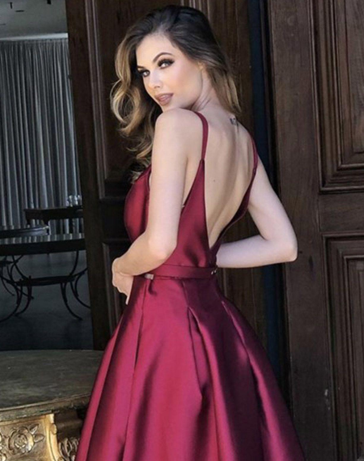Vestido Marsala em Zibeline com Cinto de Lacinho