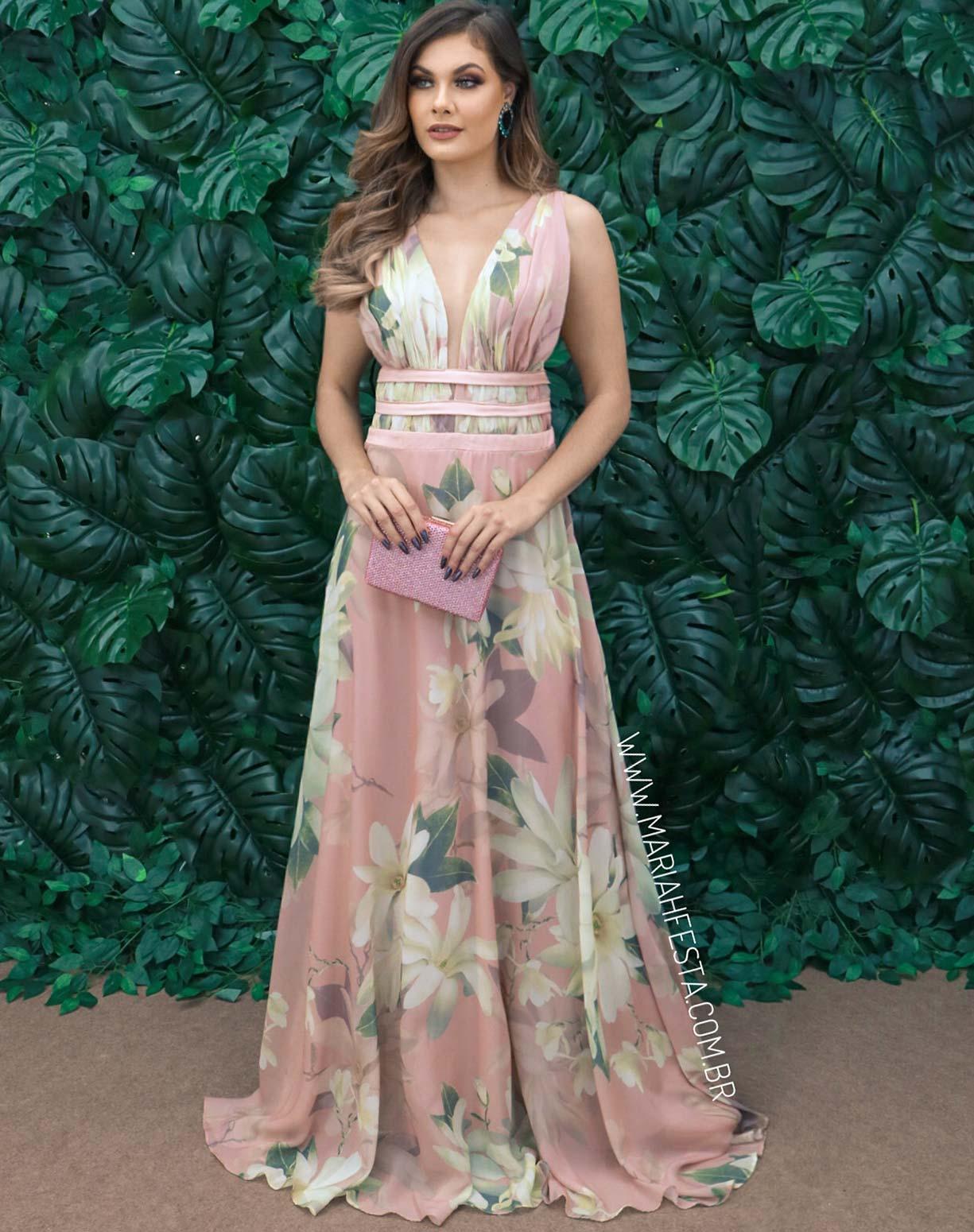 Vestido Rosê Floral