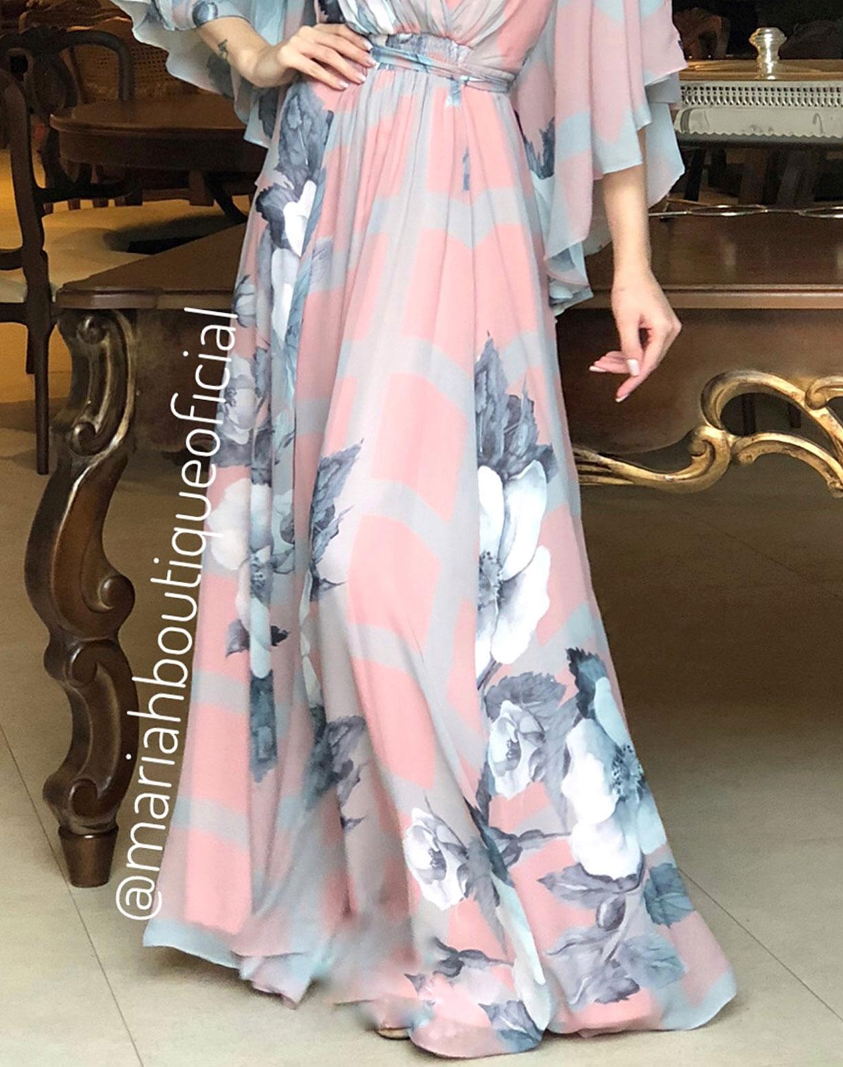 Vestido Rose Floral