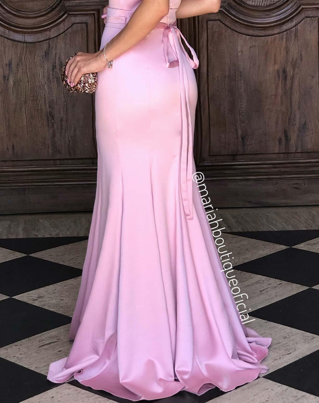 Vestido Sereia Rose