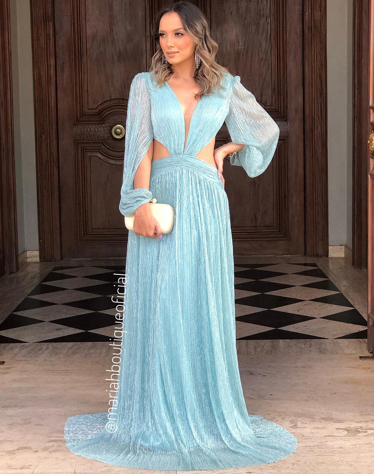 Vestido Tiffany em Lurex