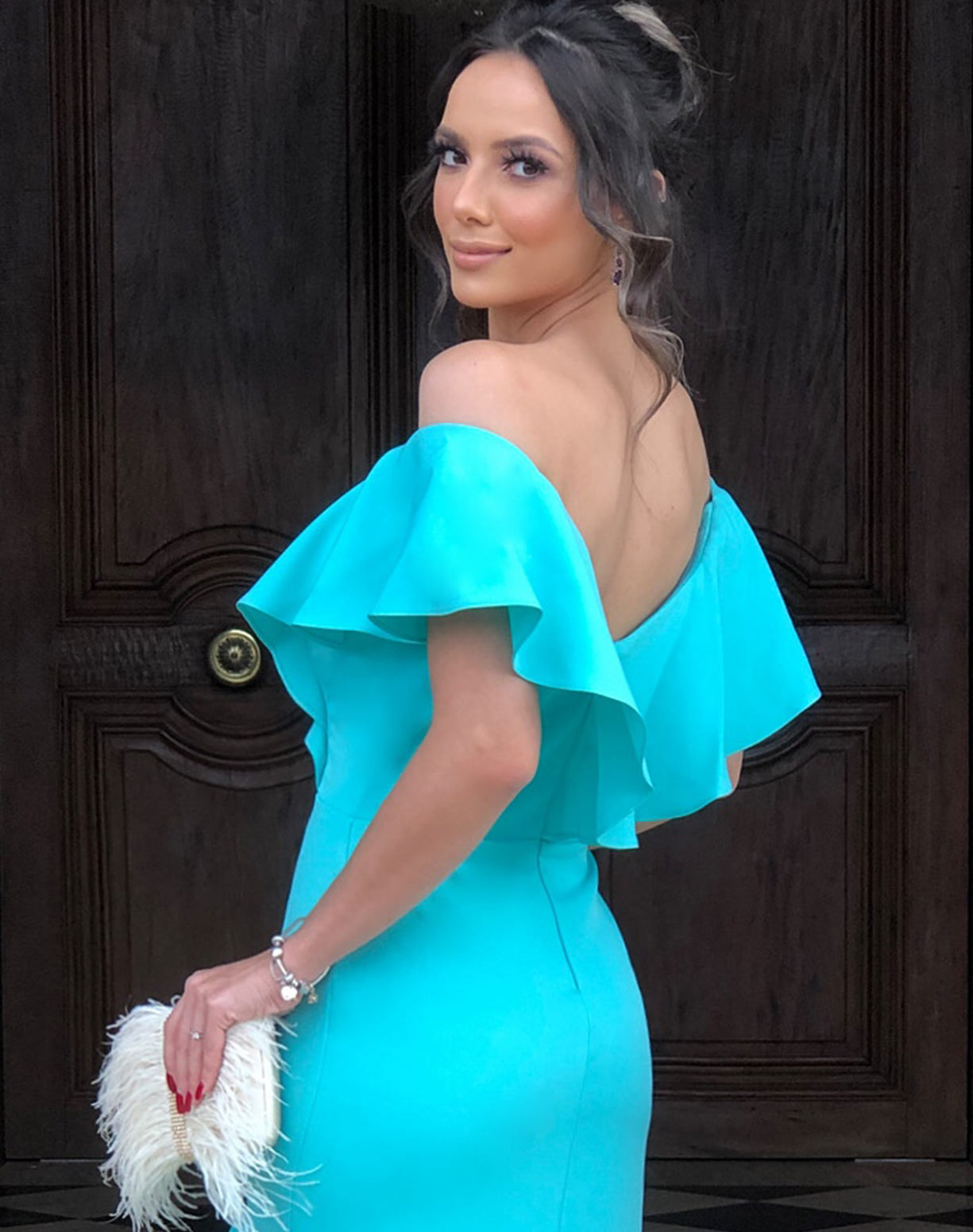 Vestido Tiffany com Babados