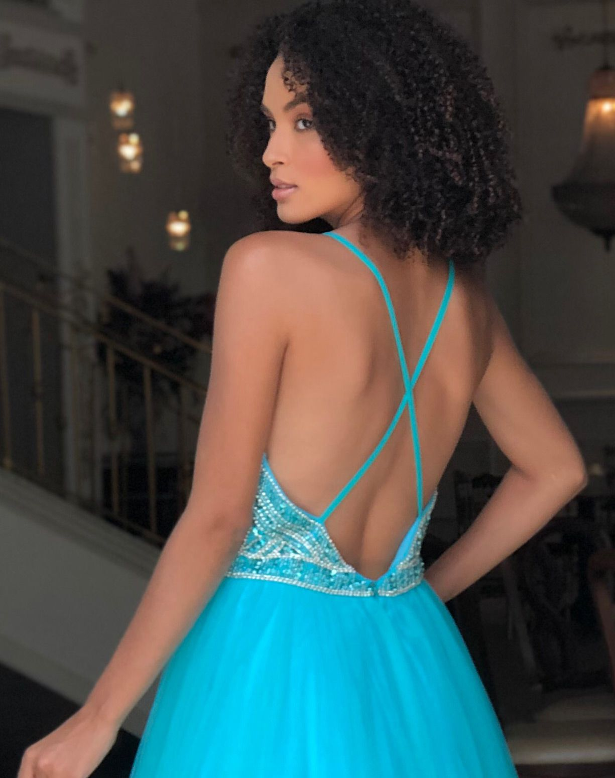 Vestido Tiffany Corpo Bordado