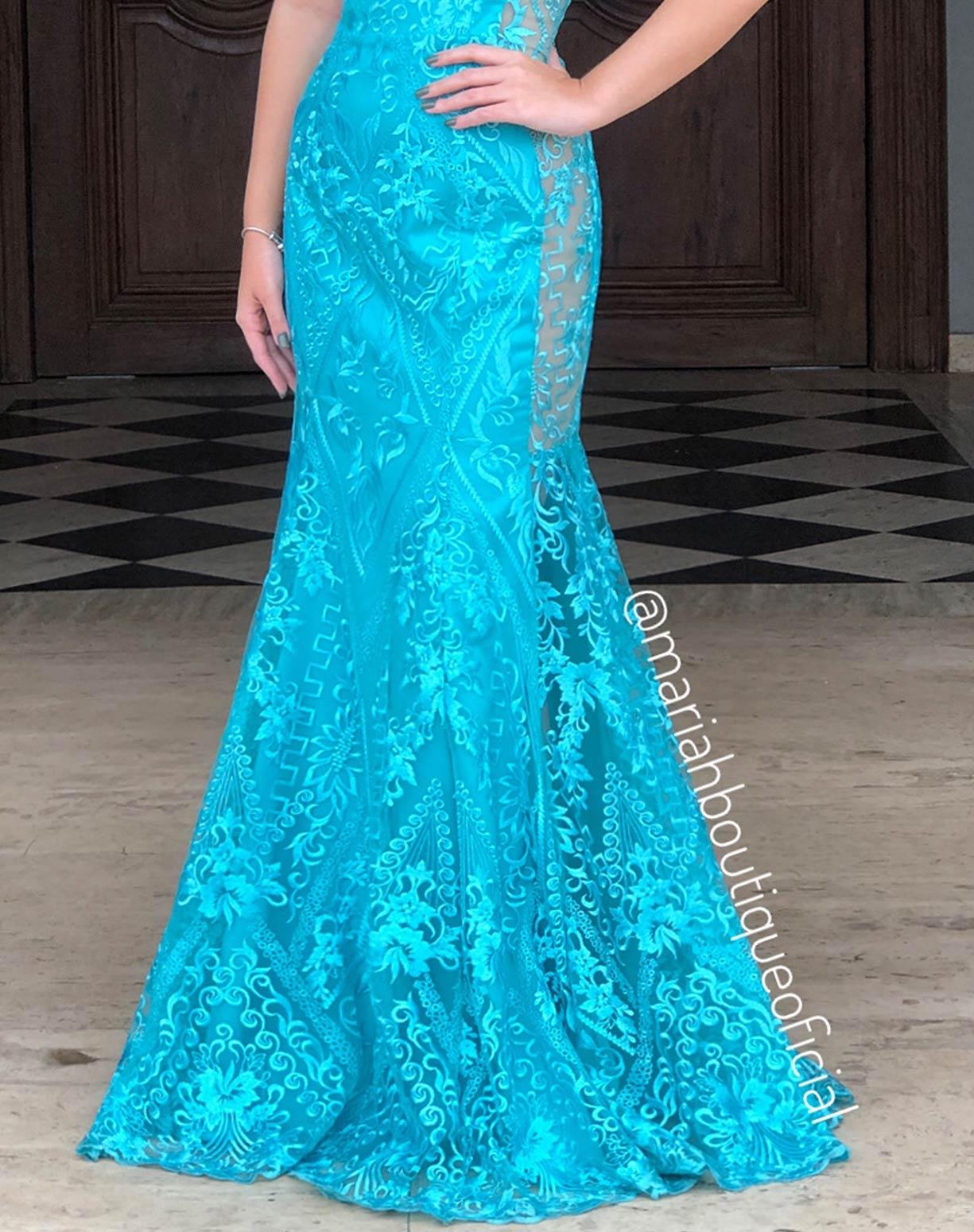 Vestido Tiffany Sereia em Renda