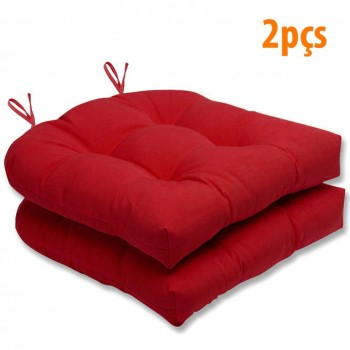 Almofada Para Cadeira Futton Solid 40x40cm - 2pçs