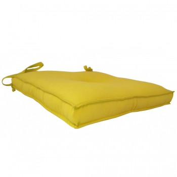 Almofada Para Cadeira 40x40cm Moond - Amarelo