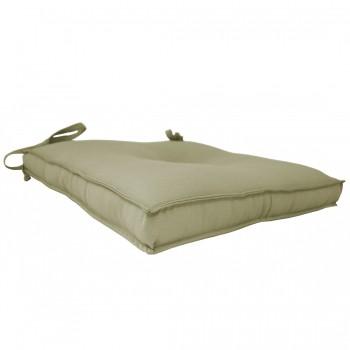 Almofada Para Cadeira 40x40cm Moond - Bege