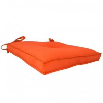 Almofada Para Cadeira 40x40cm Moond - Laranja