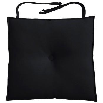 Almofada Para Cadeira 40x40cm Moond - Preto