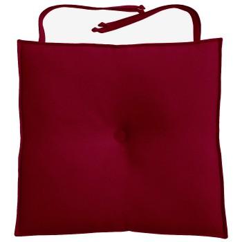 Almofada Para Cadeira 40x40cm Moond - Vinho