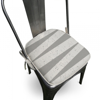 Almofada Para Cadeira Ardon 40x40cm Cinza
