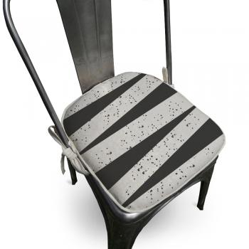 Almofada Para Cadeira Ardon 40x40cm Preto