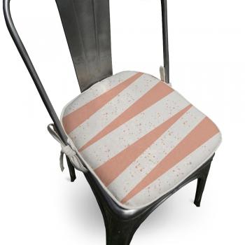 Almofada Para Cadeira Ardon 40x40cm Rose