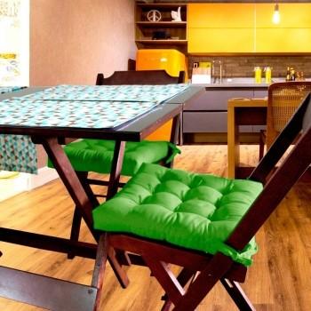 Almofada Para Cadeira Futton Ox 40x40cm - Oliva