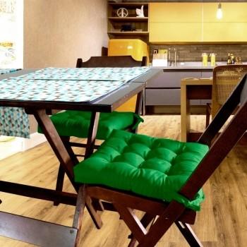 Almofada Para Cadeira Futton Ox 40x40cm - Verde