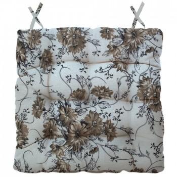 Almofada Para Cadeira Futton Ox Tropical 40x40cm - Branco