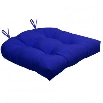 Almofada Para Cadeira Futton Solid 40x40cm  - Azul Royal