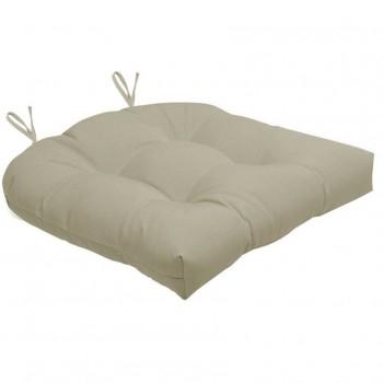 Almofada Para Cadeira Futton Solid 40x40cm  - Bege