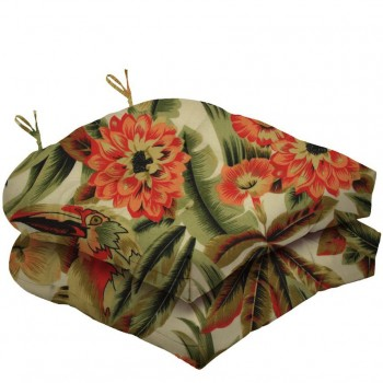 Almofada Para Cadeira Futton Solid Estampado 40x40cm - 2pçs
