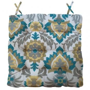 Almofada Para Cadeira Futton Wendy 40x40cm Azul