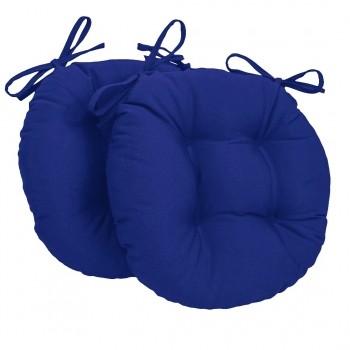 Almofada Para Cadeira Redondo Ø40cm - 2pçs Royal