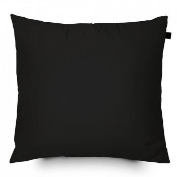 Capa de Almofada Color Lisa 40x40cm - Preta