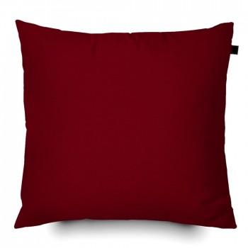 Capa de Almofada Color Lisa 40x40cm - Vinho