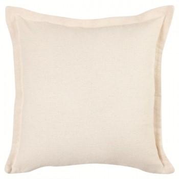 Capa Para Almofada Romantic Solid abas 40x40cm Natural
