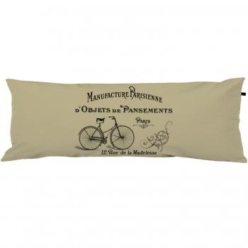 Capa Para Travesseiro De Corpo Body Pillow 40x130cm Vintage French