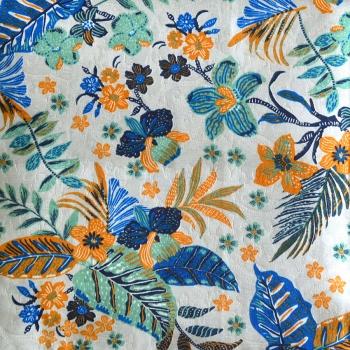 Toalha de Mesa Wendy Flores e Plantas Colors