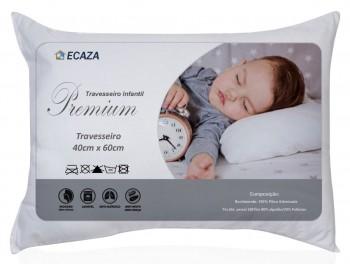 Travesseiro Infantil 40cm x 60cm com Fibra Siliconizada