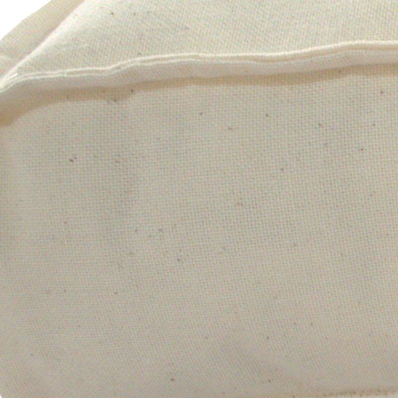 Almofada Algodão Futton Zabuton 42x42cm - Natural