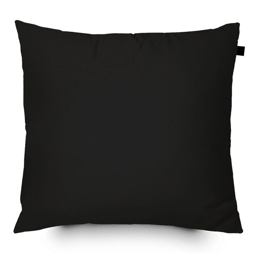 Almofada Color Lisa 40x40cm - Preta