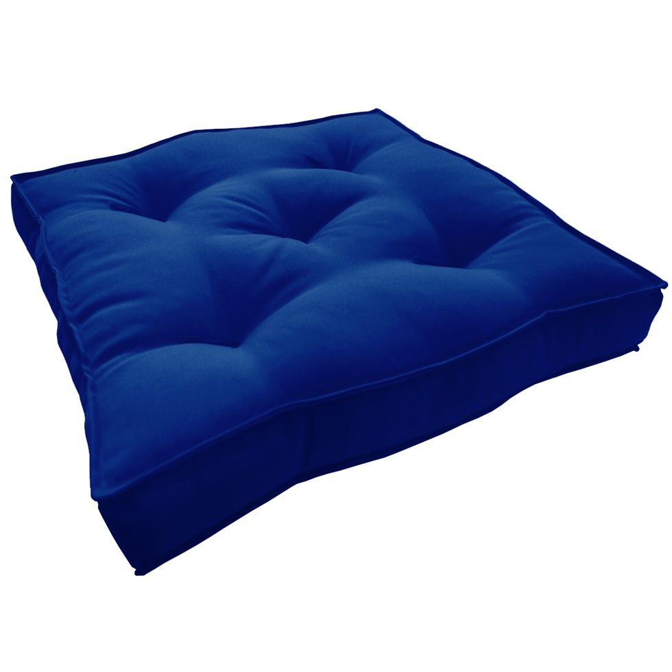 Almofada Futton Turco 42x42cm - Azul Royal