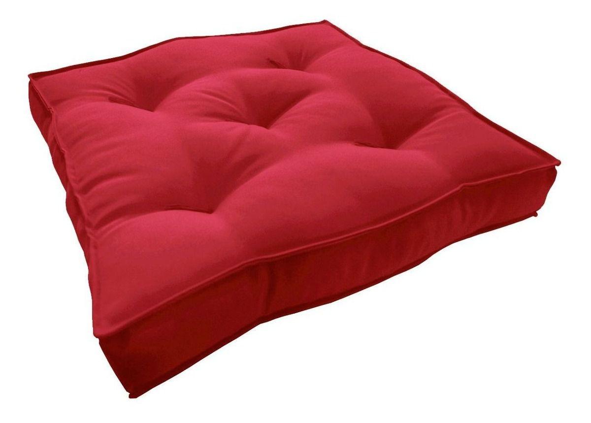 Almofada Futton Turco 42x42cm - Vermelho