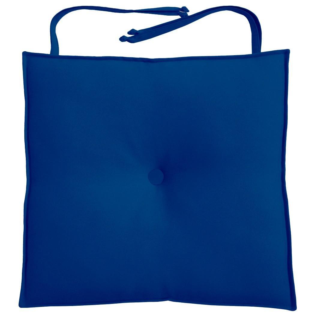 Almofada Para Cadeira 40x40cm Moond - Azul Royal