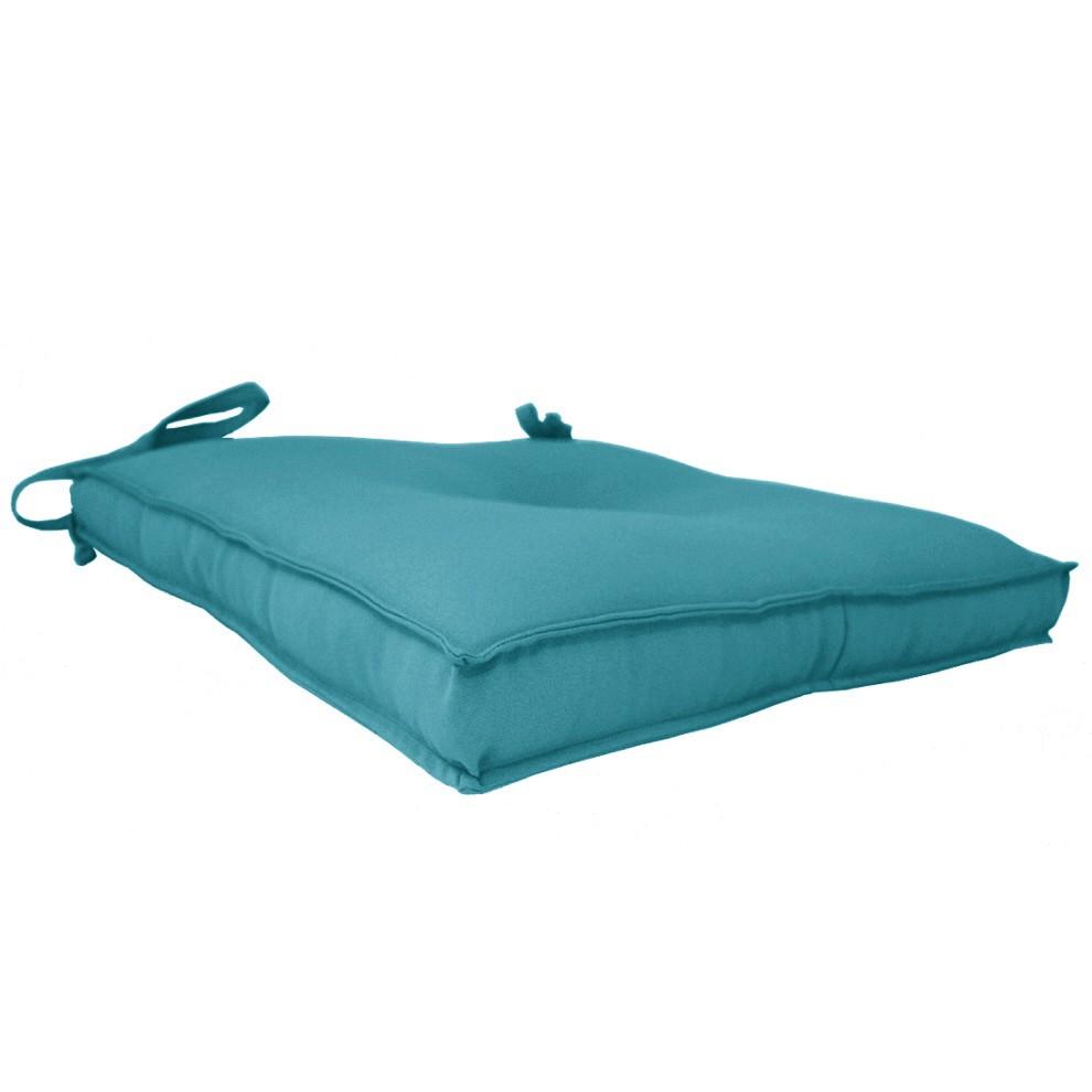 Almofada Para Cadeira 40x40cm Moond - Turquesa