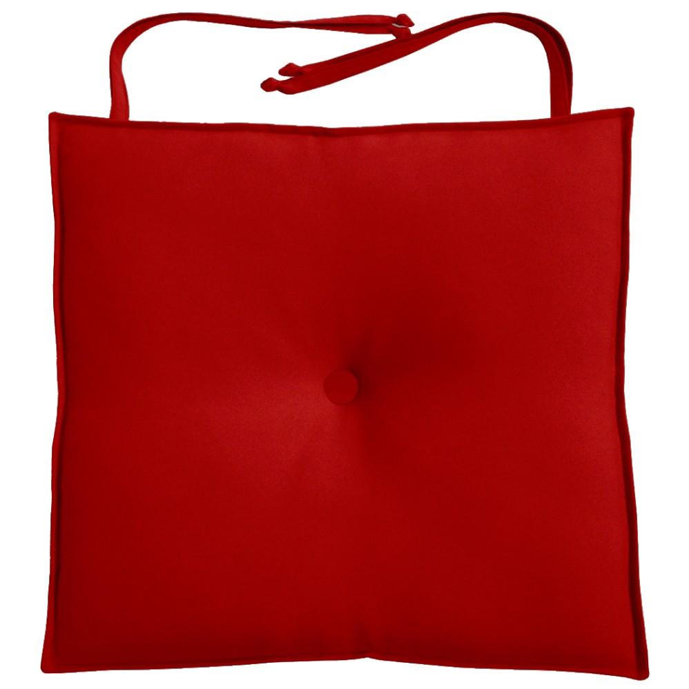 Almofada Para Cadeira 40x40cm Moond - Vermelho