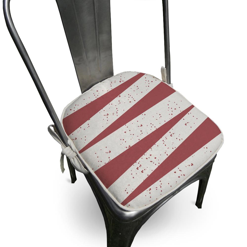 Almofada Para Cadeira Ardon 40x40cm Lacre