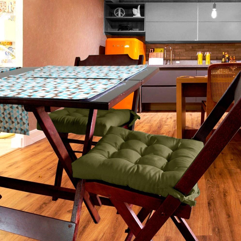 Almofada Para Cadeira Futton Ox 40x40cm - Green