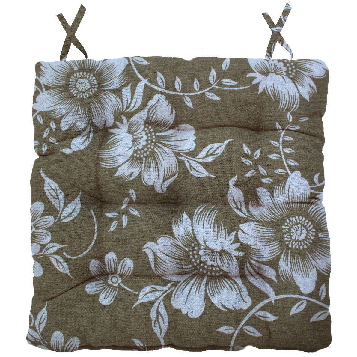 Almofada Para Cadeira Futton Ox Tropical 40x40cm - Gardenia