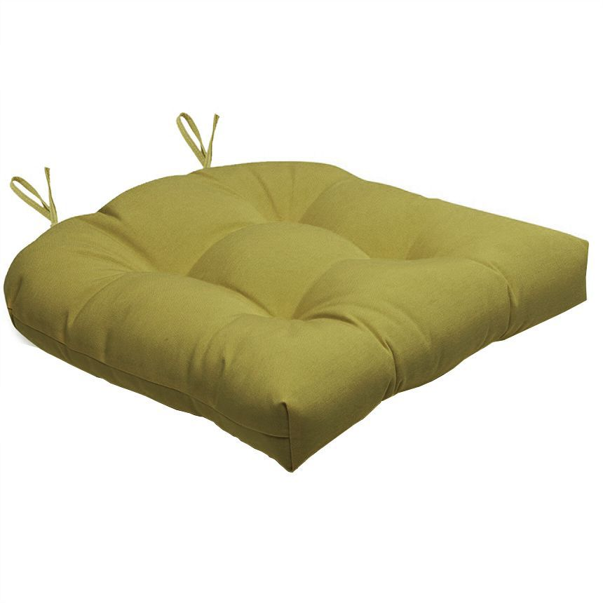 Almofada Para Cadeira Futton Solid 40x40cm  - Dourado