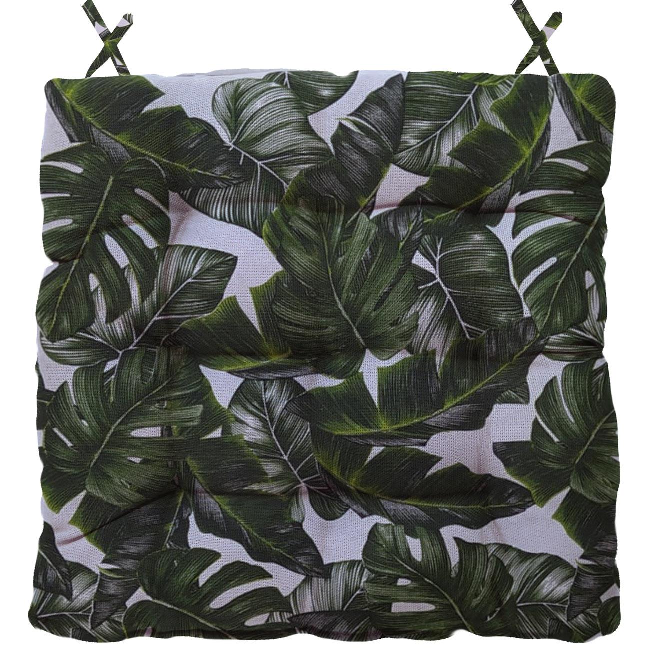 Almofada Para Cadeira Futton Wendy 40x40cm Costela de Adão